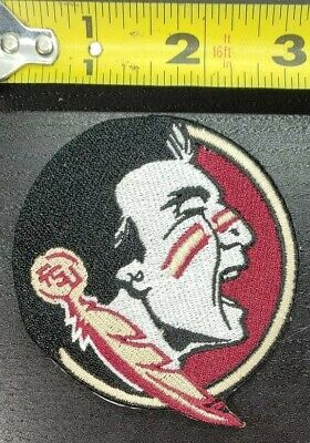 "Florida State Seminoles FSU~NCAA 3.25"" Iron/Sew On Patch~FREE SHIPPING FROM U.S."