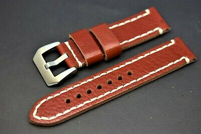 Men's Genuine Leather Watch Strap Correa para reloj de piel 20,22,24mm