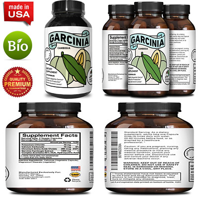 Pure 95 Hca Garcinia Cambogia Supplement Best Reviews Premium Weight Loss Ext