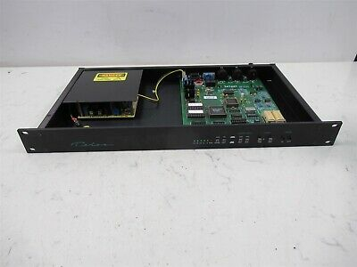 Telos One-R Digital Hybrid Broadcast Telephone Audio Interface Rack Mount Deck