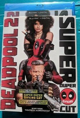 NEW Marvel Deadpool 2 (Two) Blu-ray NO DIGITAL BLUERAY bluray movie super duper