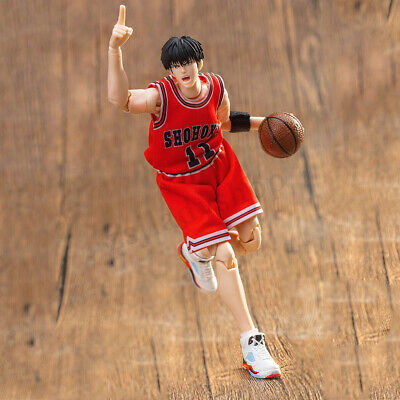 Dasheng 1//10 Hanamichi Sakuragi Jersey Action Figure Model Toy Collection Red