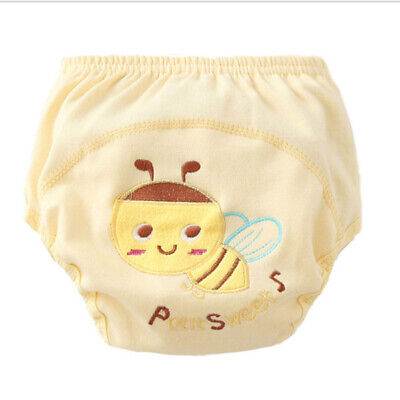 Kids Learning Pants Waterproof Training Pants Cloth Children Washable Diapers BS