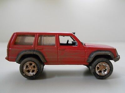 Lifted Jeep Cherokee >> Johnny Lightning Off Road Dirty Lifted Jeep Cherokee 1 64 Diecast Loose
