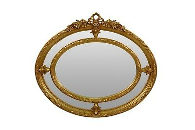 Chèvrefeuille, French Style, Gold Leaf, Hand Carved, Brand New, Wall Mirror