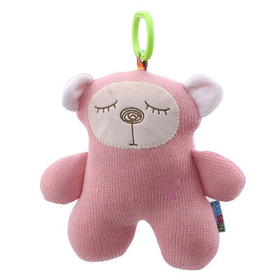 Newborn Rabbit Bear Bed Hanging Doll Plush Stroller Toy Baby Infant Toy BS