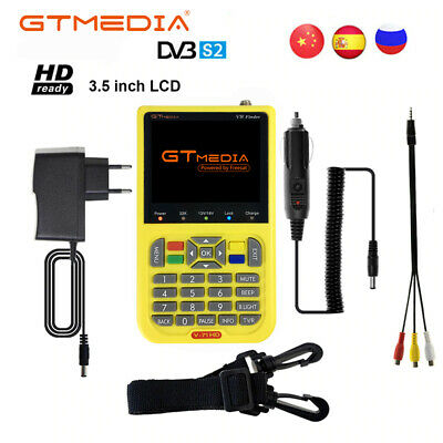 Gtmedia V8 Finder Digital DVB-S/S2 MPEG-4 1080P FTA Full HD Satellite Finder