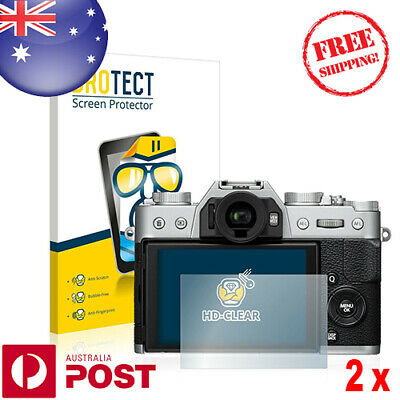 2x BROTECT® HD-Clear Screen Protector for Fujifilm X-T20 - P089AF