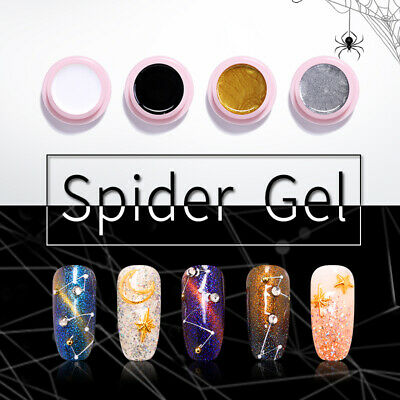 UR SUGAR 5ml 2 Boxes Nail Spider UV Gel Polish Soak off Nail Art Top Base Coat