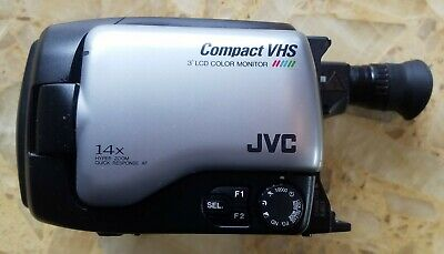 Jvc Gr Axm1u Compact Vhs Camcorder Not Tested No Battery No Cords For Parts 9 99 Picclick