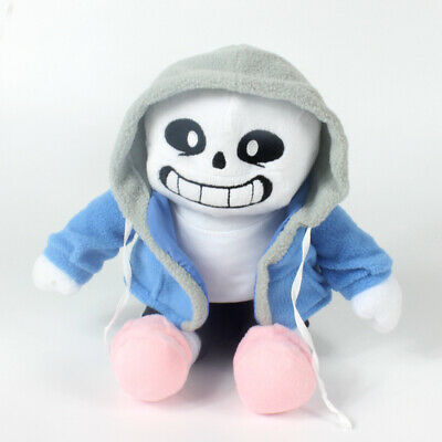 22cm  Undertale Sans Plush Stuffed Doll Toy Hugger Cushion Cosplay Gifts Kid New