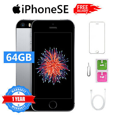 iPhone SE 64GB SPACE GREY RICONDIZIONATO USATO ORIGINALE GRADO B ACCESSORI IT