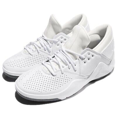 8d50e828549571 Nike Jordan Flight Fresh PREM Low White Men Basketball Training Shoes  AH6462-100