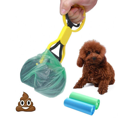 Pooper Scooper Pet Waste Shovels Cleaning Tool Handle Grabber PickUp for Dog Cat