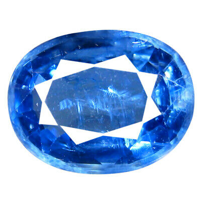 1.95 ct AA+ Significant Oval Shape (9 x 7 mm) Blue Kyanite Natural Gemstone