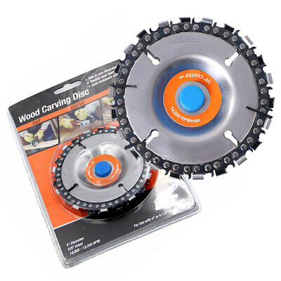 Angle Grinder Saw Blade Disc 22 tooth Chain Saw Carving Wood Plastic 100/115mm