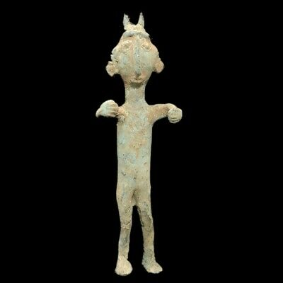 Very Rare Ancient Luristan Bronze Statuette 1200Bc (2)