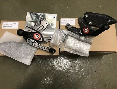 Bmw S1000rr Rearsets Footrests Hp Motorrad Genuine New 2017 2018