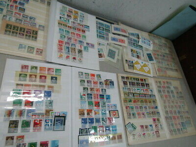 Nystamps Switzerland many mint stamp collection !