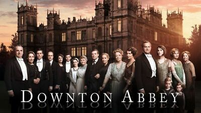 PBS Masterpiece Classics Downton Abbey seasons 1-5 dvd Original UK Edition 234