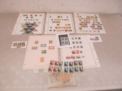 Nystamps Russia & Estonia old stamp collection Minkus page