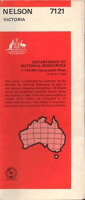 Nelson 7121 Victoria Department of National Resources 1:100,000 Topographic Map