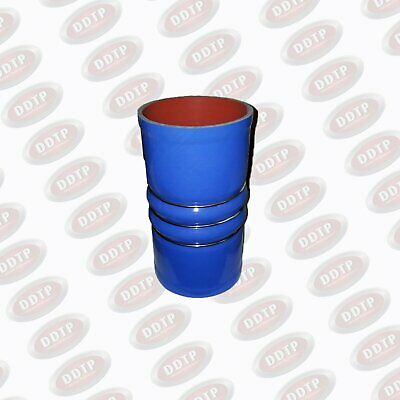 Coolant Hose 114 mm 4-Ply Blue W/ Retention Rings for Diesel Engine