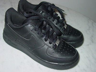 new styles ef96e 4fc42 2014 Nike Air Force One Black Low Youth Shoes Size 4Y  109.95