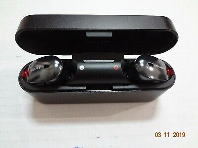 Sony WF1000X/NMB Bluetooth Wireless In-Ear Earbuds Noise-Canceling - BLACK