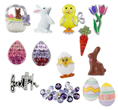 Origami Owl EASTER Charms Brand New Spring Collection FREEBIE w/ 5! Limited Ed.