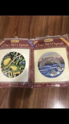 Two Semco Long Stitch Kits, Both Brand New And Complete