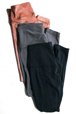 1e6f5b9eed Koral Lululemon Womens Cropped Leggings Athletic Pants Blue Gray Brown S 6  LOT 3