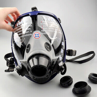 USA Full Face Facepiece Respirator Painting Spraying Gas/dust Mask For 3M 6800