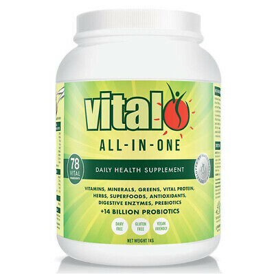 VITAL GREENS - BEST SELLING GREEN SUPERFOOD BLEND - SUPER CHARGE YOUR HEALTH 1kg