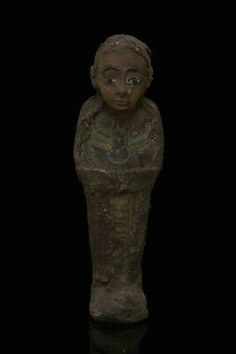Ancient EGYPT EGYPTIAN STATUE ANTIQUE Shabti Ushabti Mummy Carved STONE, BC