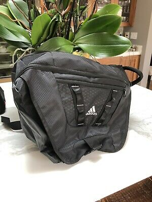 2b1b26920533 ADIDAS GREEN   Black climaproof load spring backpack -  32.50