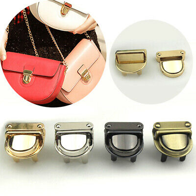 1PC Metal Buckle Twist Closure Catch Tuck Lock for Leather Bag Case Clasp Purse