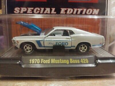 M2 Machines 1970 Ford Mustang Boss 429 Super Chase 1 of 108 1/64 Die cast ToyCon
