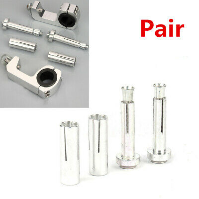 2X 22/28mm Retrofit Motorcycle Handguard Bracket Expansion Screw Handguard Parts