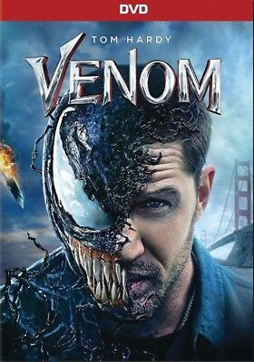 VENOM (2018) DVD : DISC ONLY * Free Shipping* Action*adventure