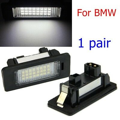 2PCS 24 LED Number License Plate Lamp White Light For E82 / E88 E90 E91 E92 E93