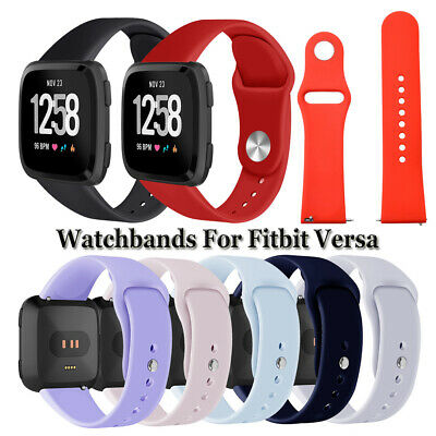 Soft Sports Watchband Wristbands Silicone Band Bracelet Strap For Fitbit Versa