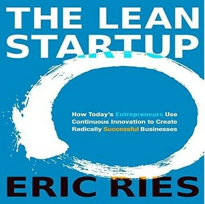 The Lean Startup By Eric Ries (audio book, e-Delivery)