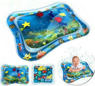 Inflatable Fun Water Play Mat for Kids Baby Children Infants Tummy Time
