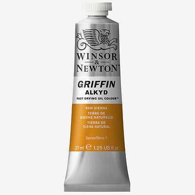 Griffin Alkyd Oil Paint 37ml Raw Sienna