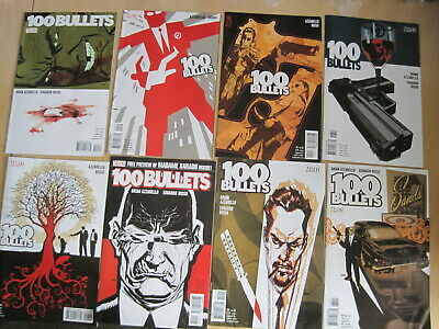 100 Bullets 89-100, FINALE, COMPLETE 12 iss STORY.1999 series by Azzarello,Risso