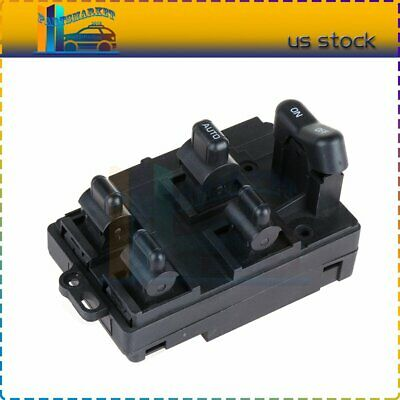 Car Electronics Accessories F-blue Power Window Master Control Switch Replacement 35750SV1A01 Replacement for 1994-1997 Honda Accord DX Sedan 4-Door Accessories