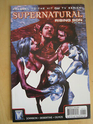 SUPERNATURAL, RISING SON : issue 1.  THE CULT HIT CW TV SERIES. DC. 2008