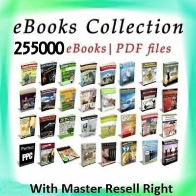 AAA 255000 eBooks Package Collection Pdf Format M Resell Rights Free shipping