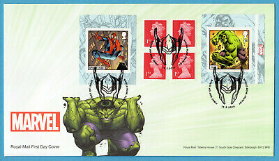 2019 MARVEL COMICS BOOKLET FDC FIRST DAY COVER - Stanley Handstamp